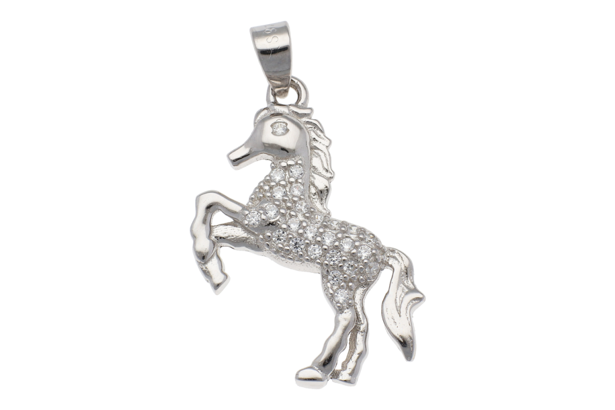 Bijuterii argint 925 medalion calut