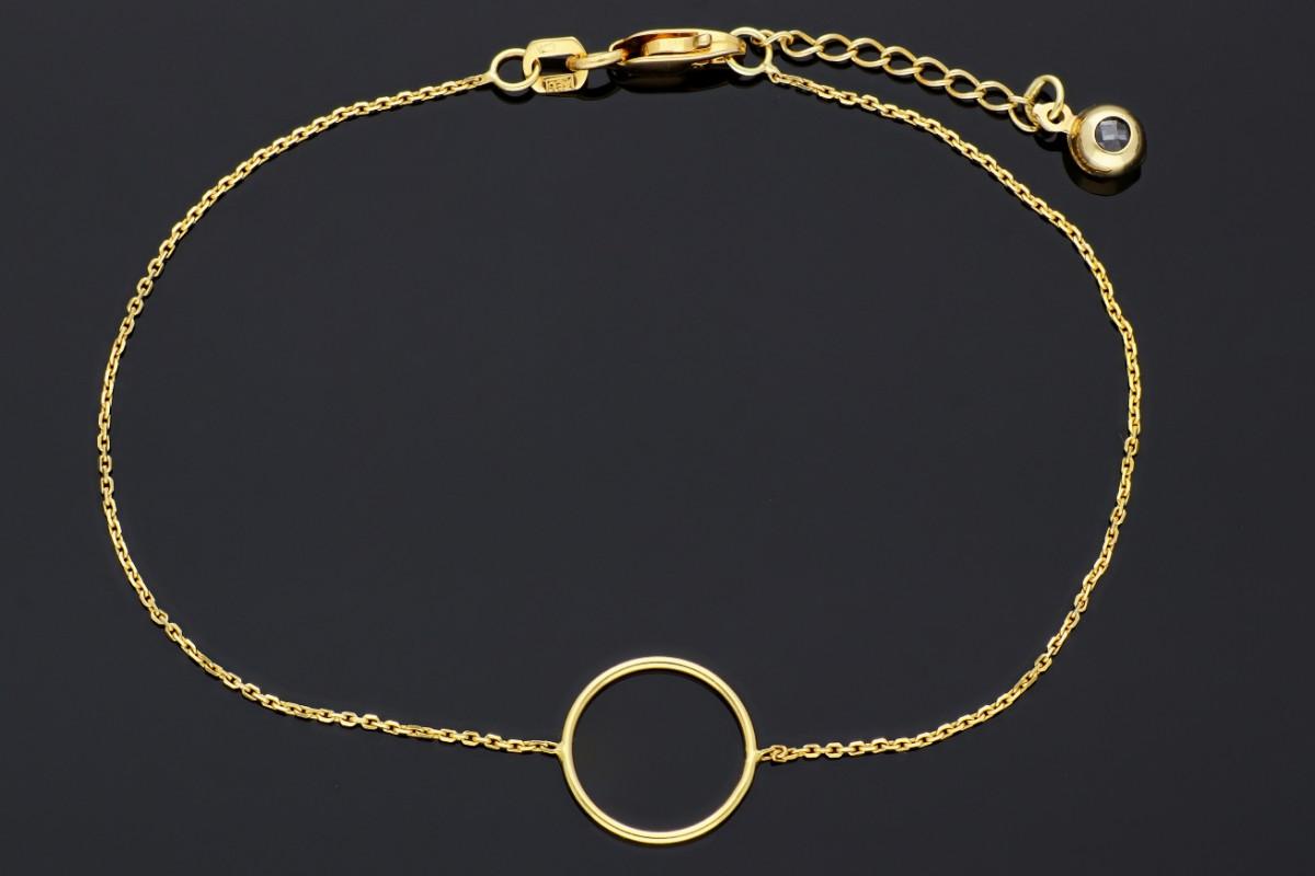 Bijuterii aur - Bratari mobile dama din aur 14K galben cerculet