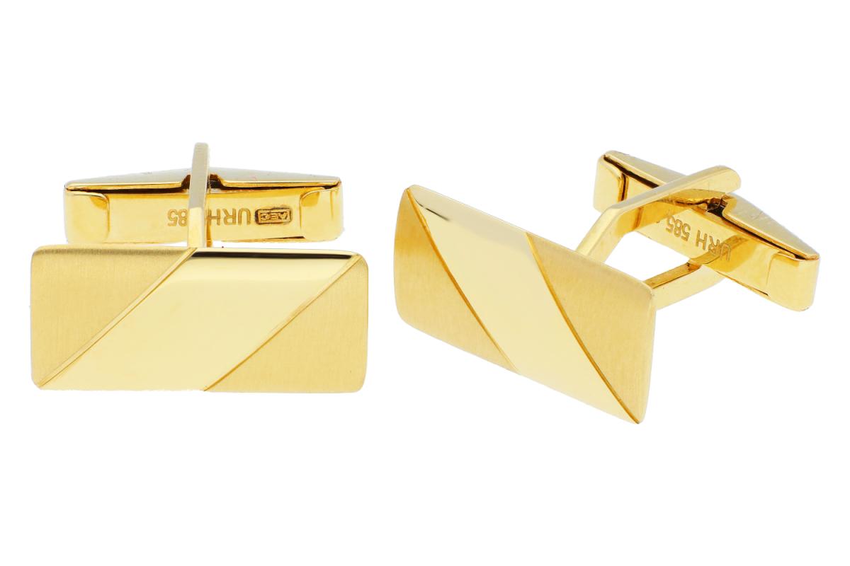 Bijuterii aur - Butoni aur 14K galben