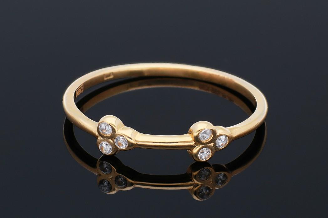 Bijuterii aur - Inele aur 14K galben minimalist