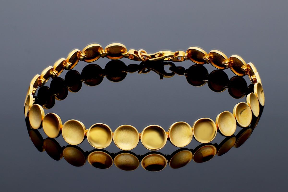 Bijuterii aur - Bratara mobila dama aur 14K galben