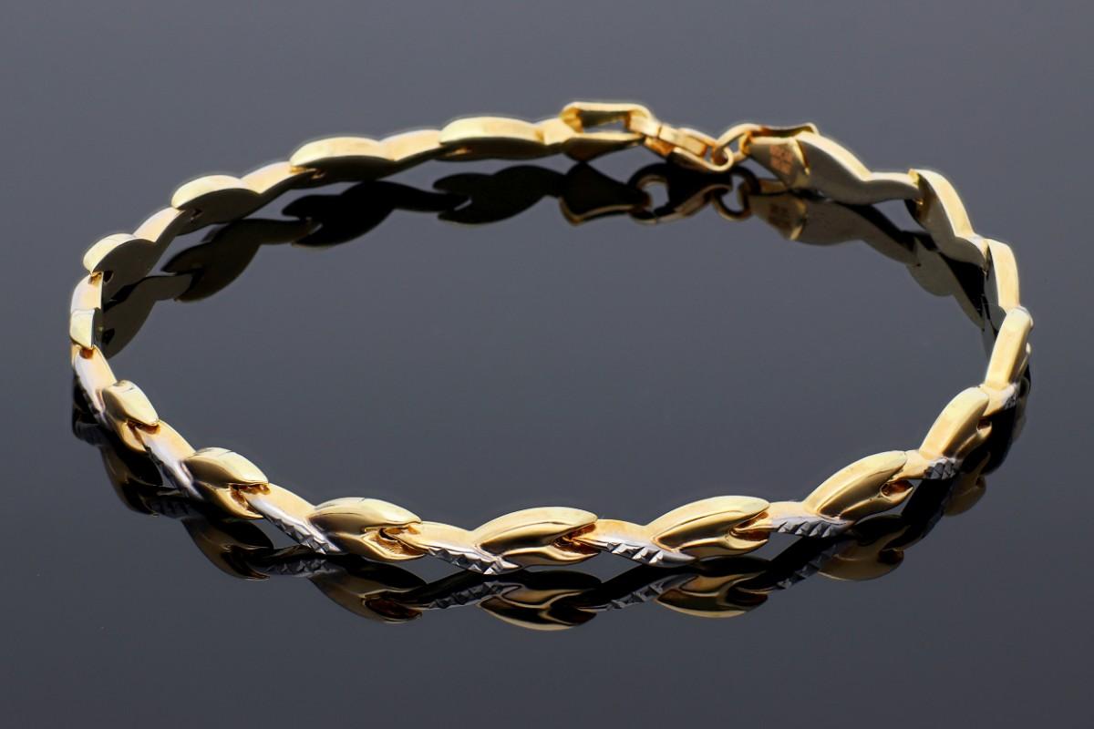 Bratara din aur 14 k