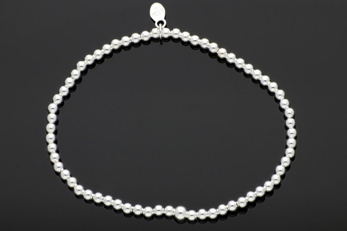 Bratara elastica din argint