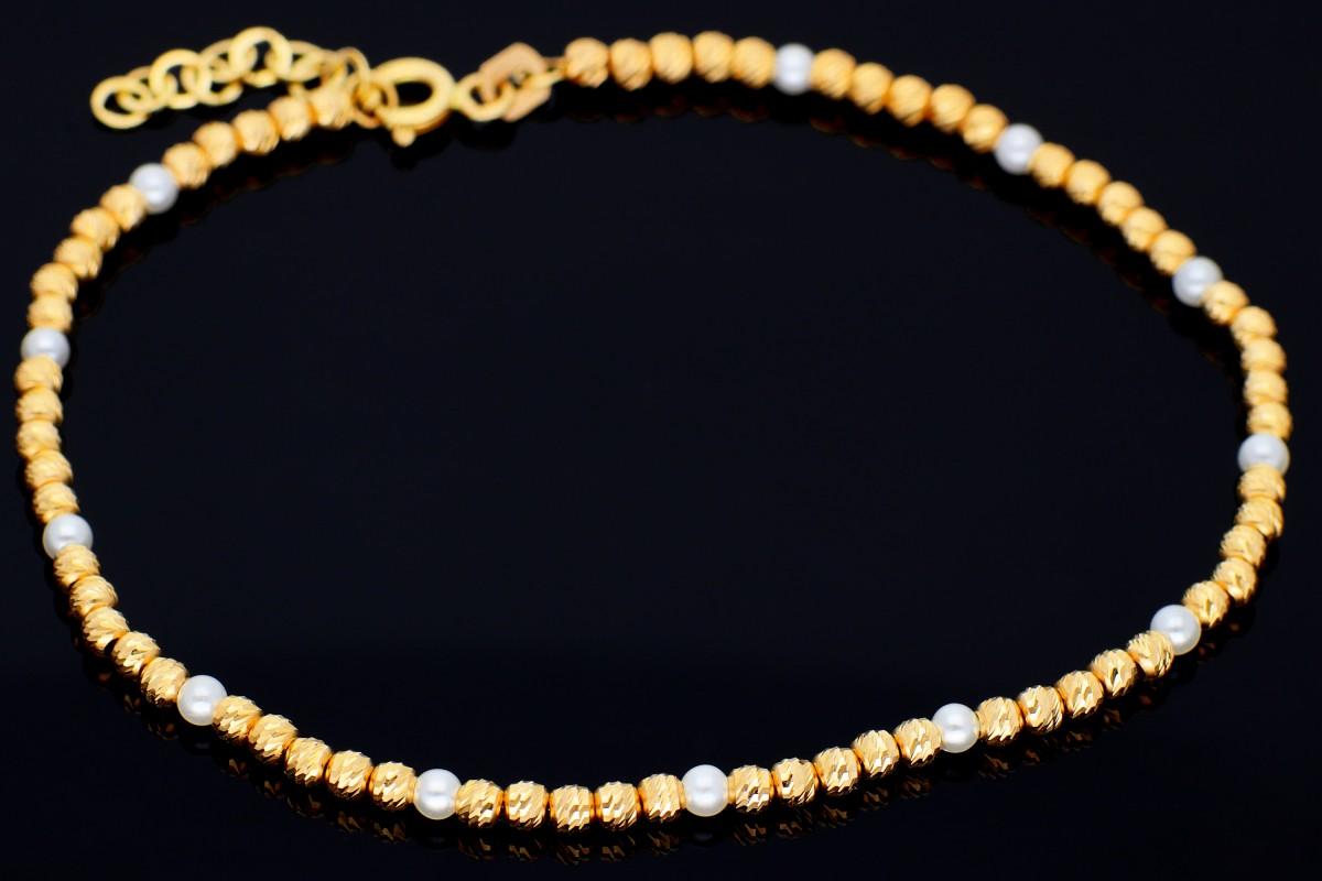 Bratari aur 14K bijuterii dama bilute perlute