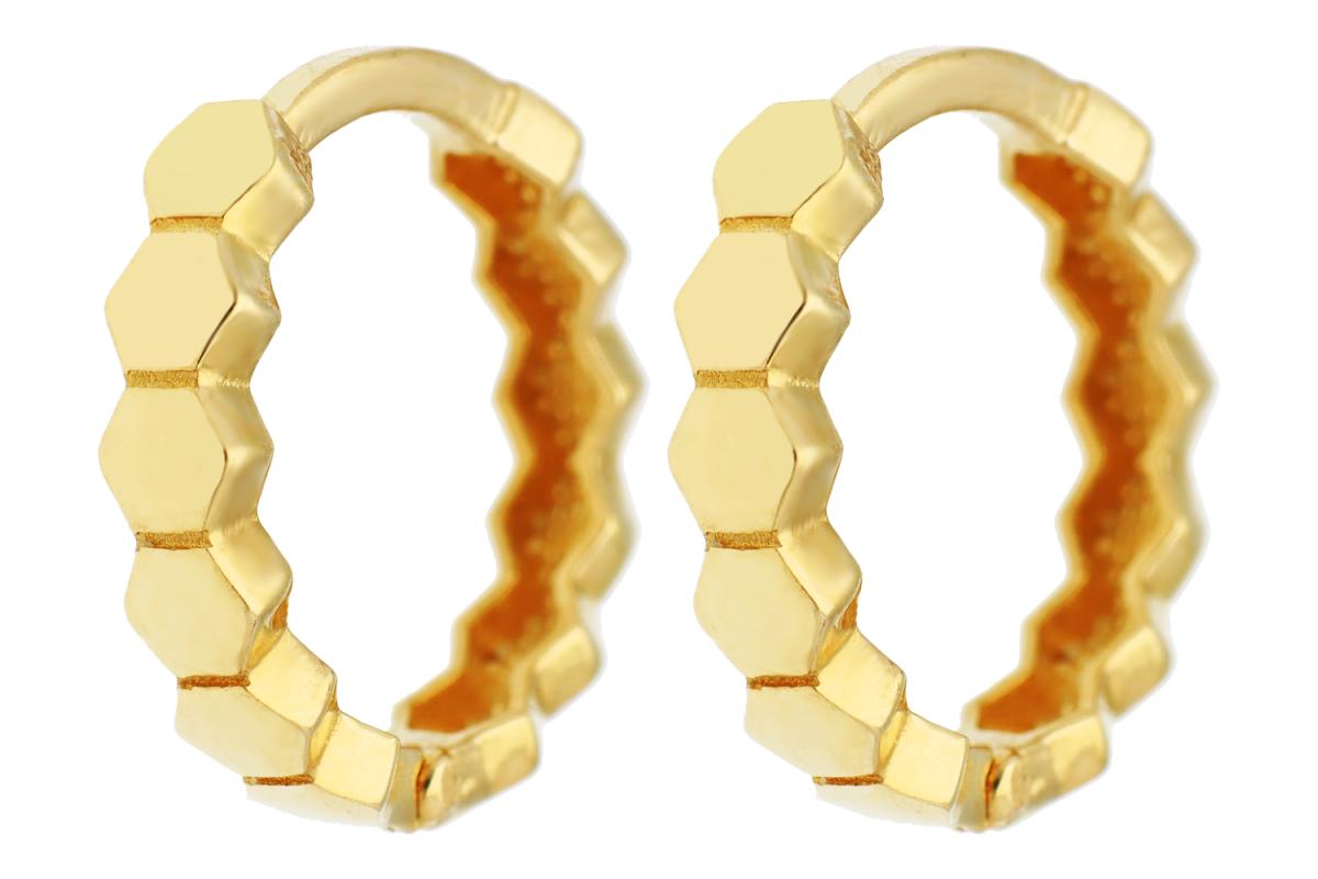 Cercei copii din aur 14K galben