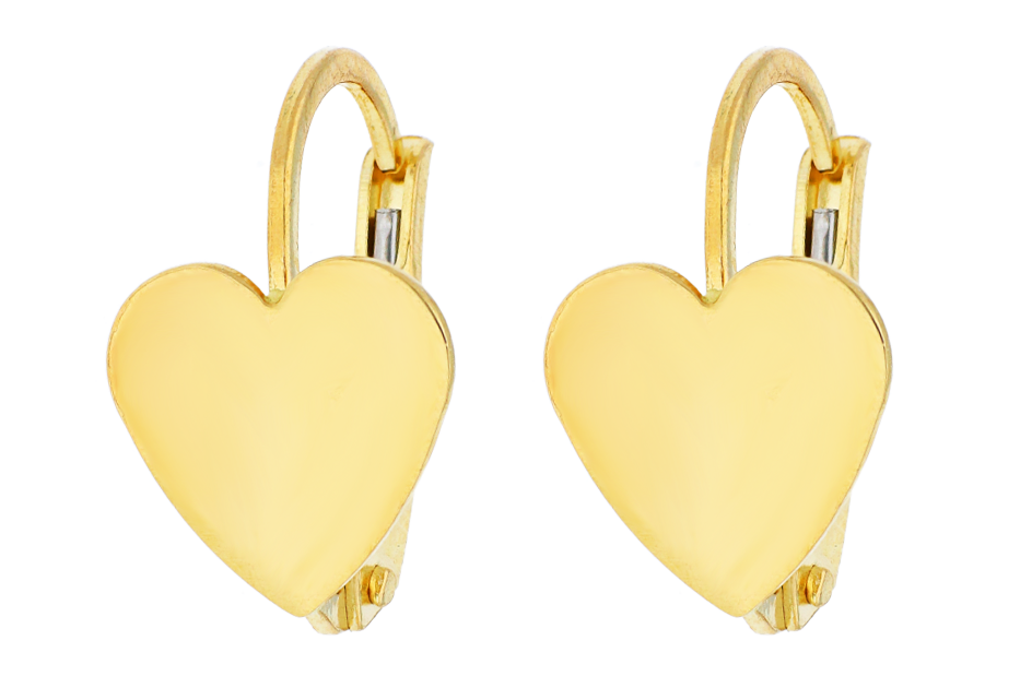 Cercei din aur 14K galben bijuterii online