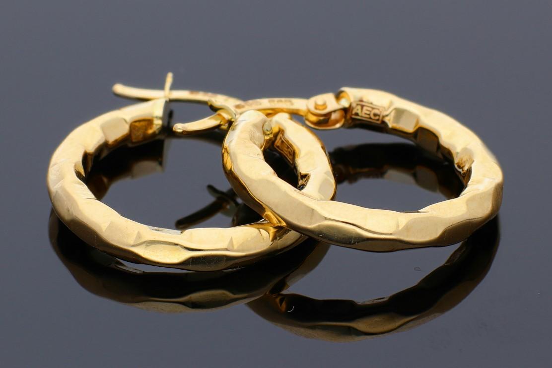 Cercei din aur 14K galben