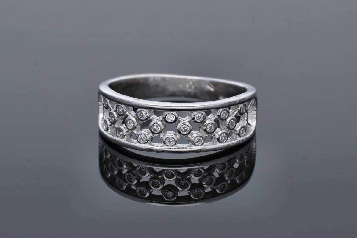 Inel argint 925 zirconii