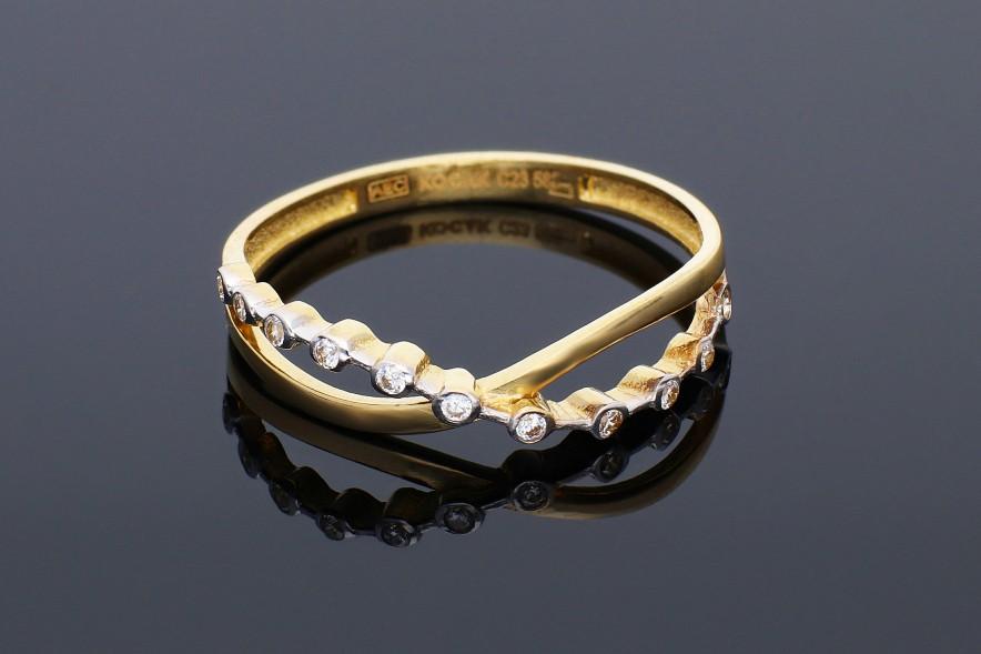 Inel aur 14K   bijuterii cadou