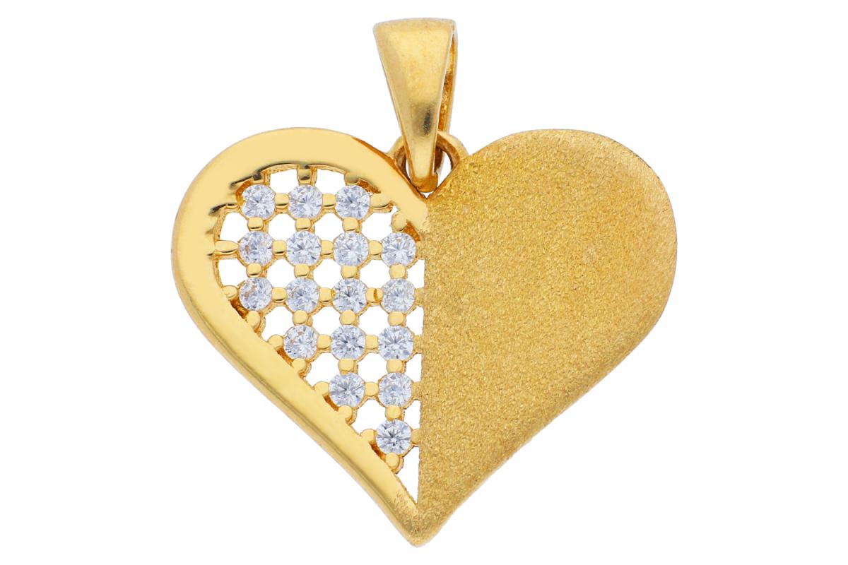 Medalioane aur 14K inimioara