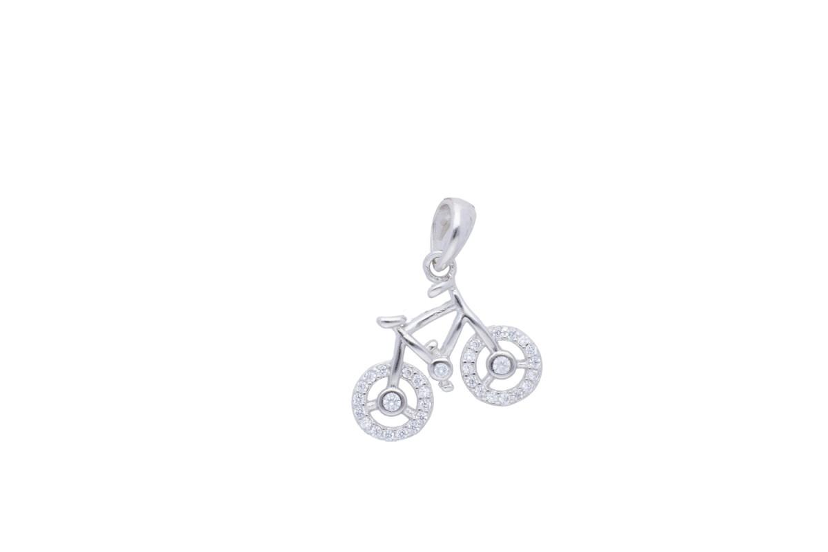 Medalion model bicicleta bijuterii argint