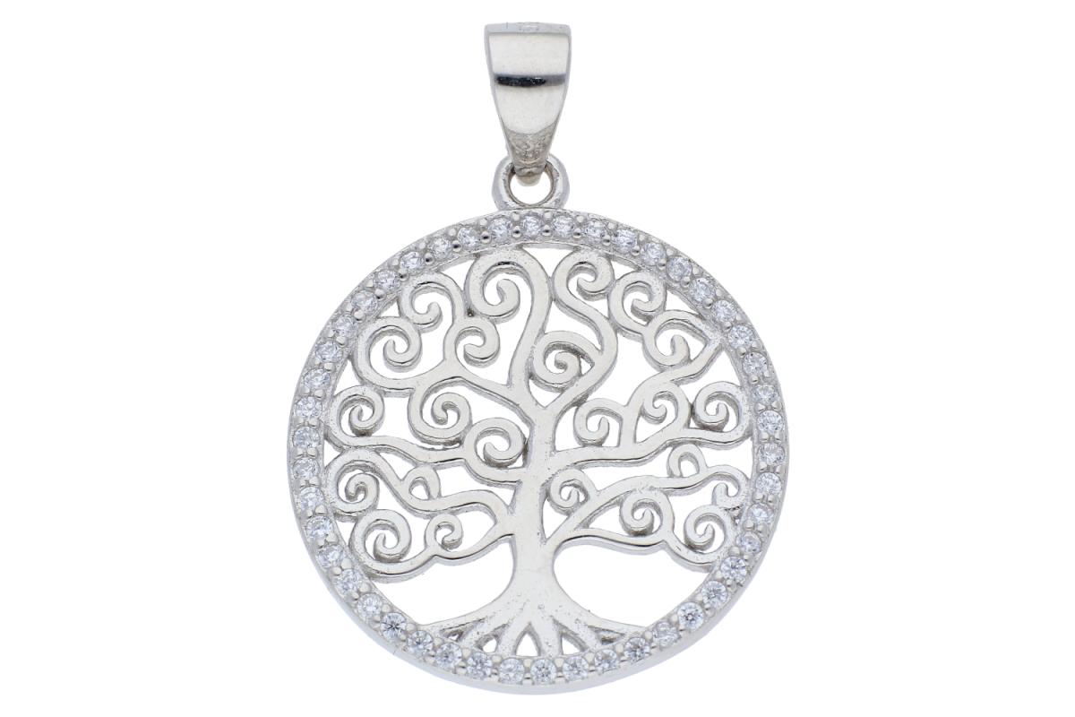 Pandantiv argint pomul vietii