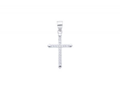 Bijuterii argint medalion cruciulita