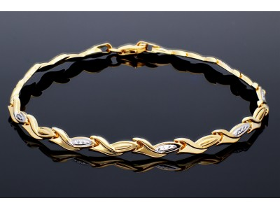 Bratara dama aur 14K bijuterii