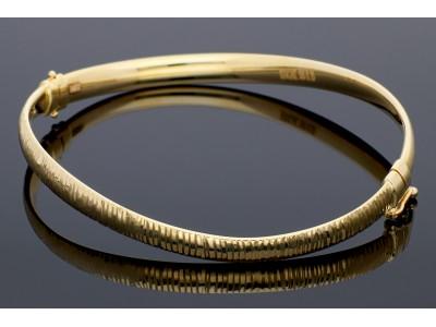 Bratara fixa din aur 14K galben