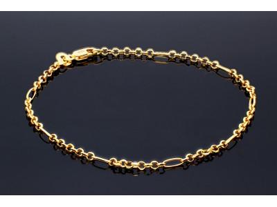Bratara mobila unisex din aur 14K