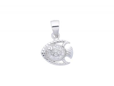 Cadou bijuterii argint pandantiv pestisor