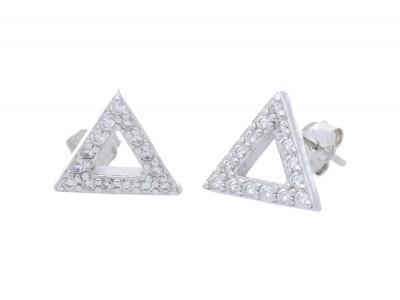 Cercei argint 925 geometrie