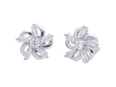 Cercei argint bijuterii cu zirconii