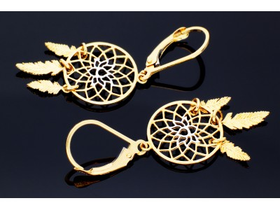 Cercei aur 14k bijuterii cadou pandant pomul vietii