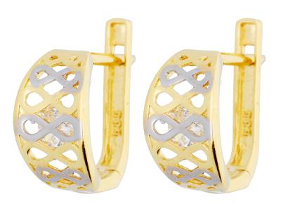 Cercei aur 14k deosebiti bijuterii dama