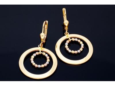 Cercei cu pandant cercuri cadouri bijuterii aur
