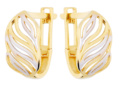Cercei din aur 14K bijuterii dama