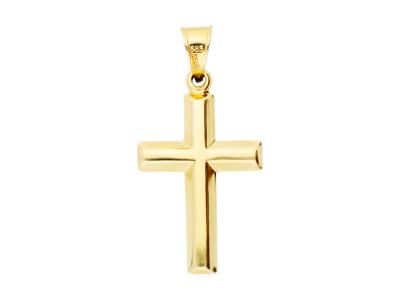 Cruciulita pandantiv din aur 14K