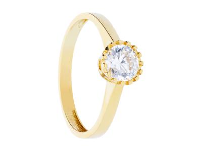 Inel de logodna cadouri bijuterii aur 14k