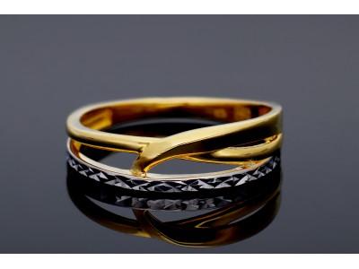 Inel din aur 585 fara pietre