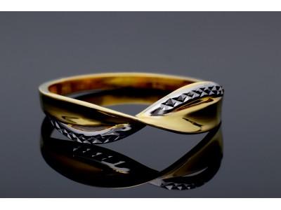 Inel din aur de 14K bijuterii dama