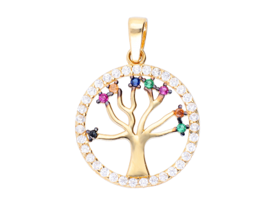 Medalion din aur14 pomul vietii