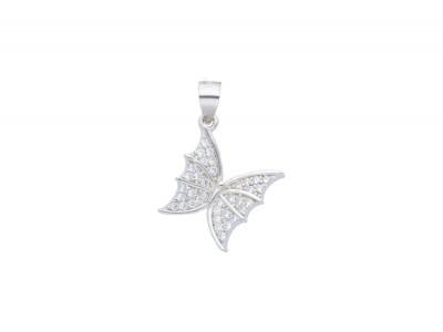 Pandantiv argint 925 fluturas