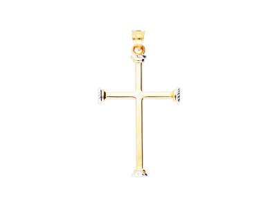 Pandantiv cruciulita din aur 14K