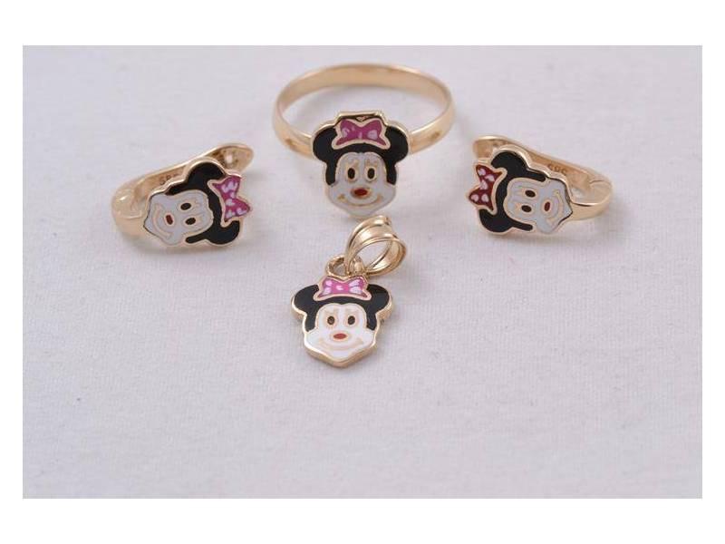 Set aur copii cu email  bijuterii deosebite inel,cercei si pandant