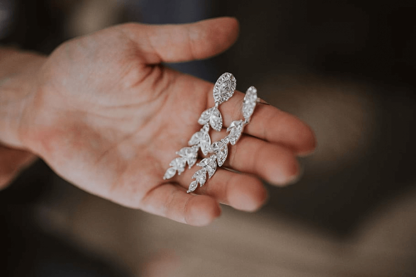 cercei din aur lungi
