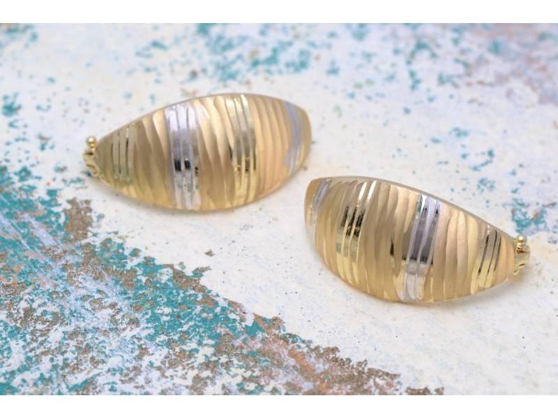 Bijuterii aur 14K cercei dama