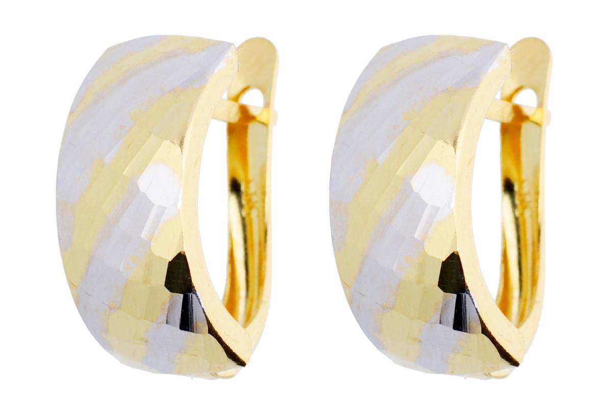 Bijuterii cadou cercei aur 14k