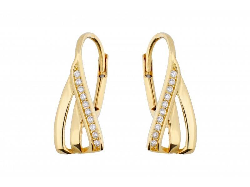 Bijuterii de dama aur 14K cercei