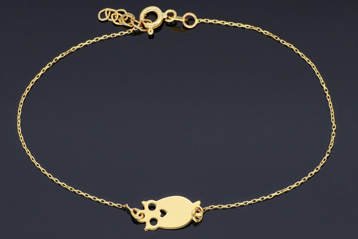 Bratara dama bijuterii aur cadou bufnita