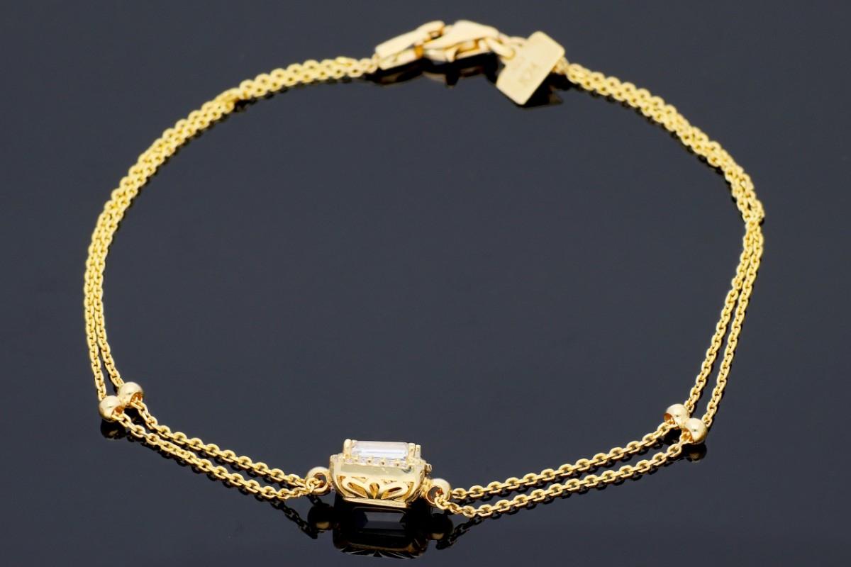 Bratari mobile dama din aur 14K galben