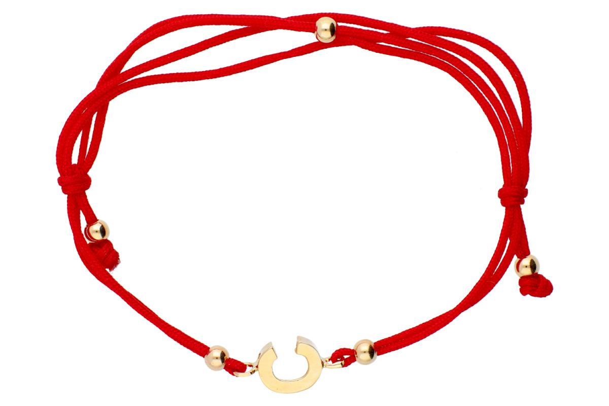 Bijuterii aur - Bratari cu snur din aur 14K galben C