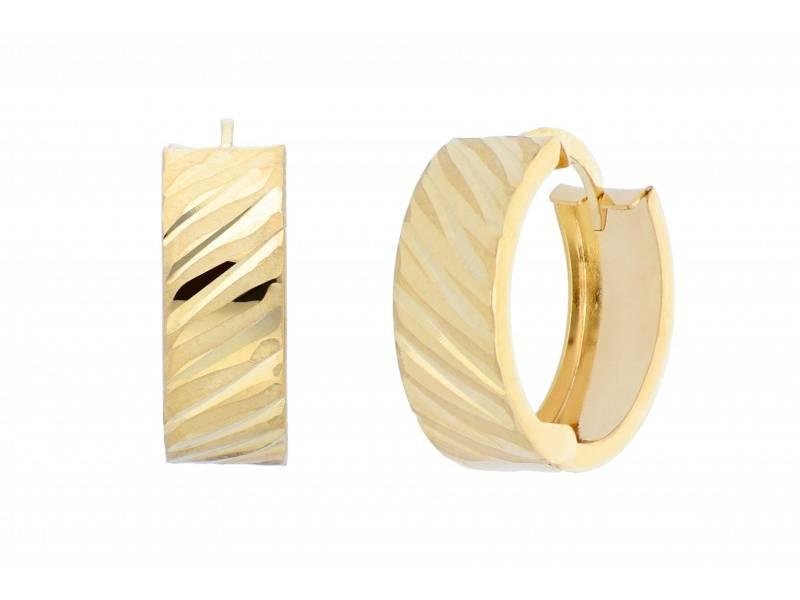 Cadouri bijuterii cercei aur 14k