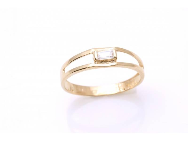 Cadouri bijuterii dama inel aur 14k