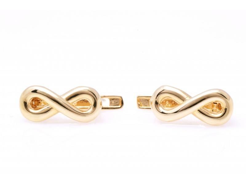 Cercei aur 14 k bijuterii dama infinit