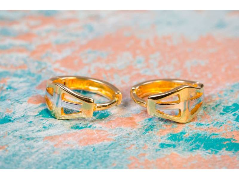 Cercei aur 14 k bijuterii pentru copii