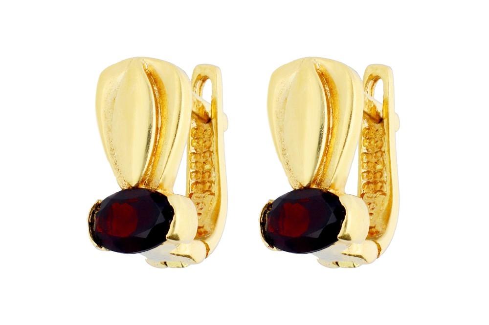 Cercei aur bijuterie cadou model deosebit
