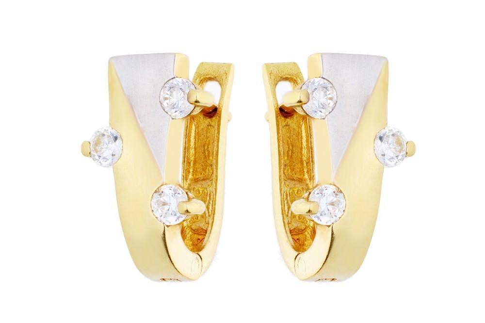 Cercei aur bijuterie dama