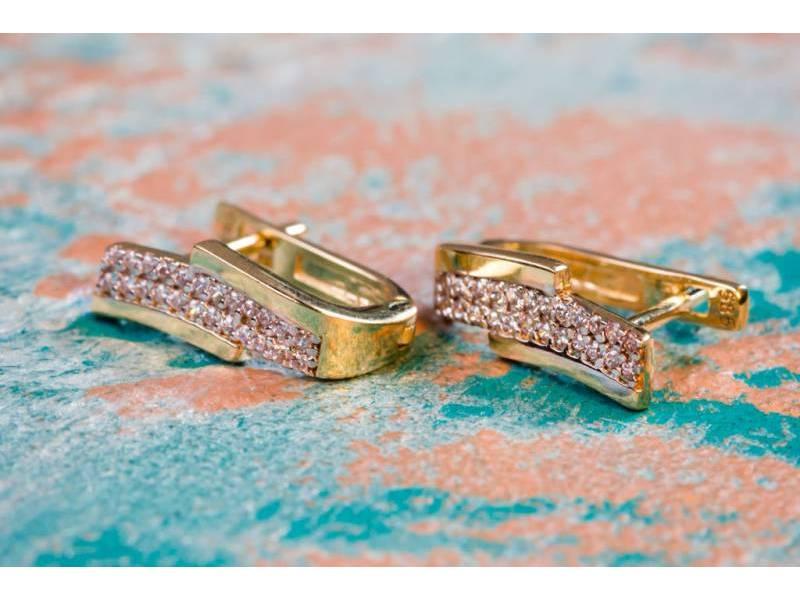 Cercei aur bijuterii dama