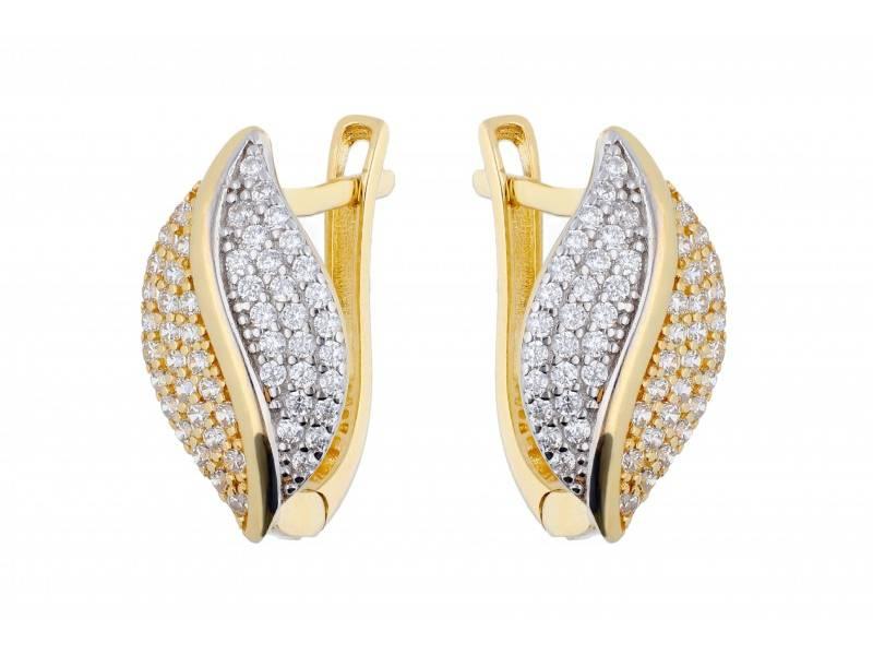 Cercei bijuterii dama aur 14K